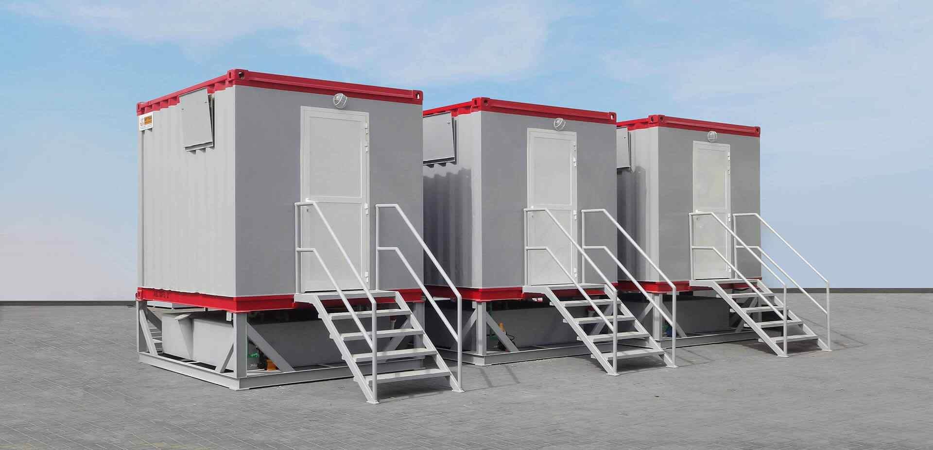 ablution unit rental