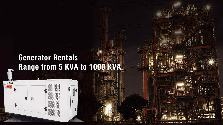 generators rentals